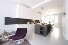 Verbouwing en inrichting herenhuis : Moderne keukens van StrandNL architectuur en interieur