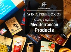 MonthlyFlavors #giveaway box Free Boxes, Giveaway, Competition, Healthy, Health