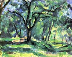 Forest - Paul Cezanne