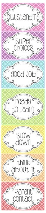 Mrs. Heeren's Happenings: New Behavior Clipchart {Modern Quatrefoil} + Product Giveaway