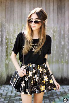 FashionCoolture - 12.06.2015 look du jour Le Motto black and gold outfit (5)