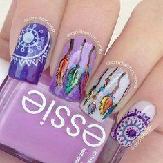 Atrapasueños nails