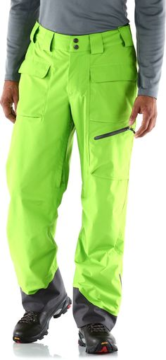 The waterproof Marmot Mantra shell pants are built to charge down big lines or launch massive tricks in the park. #REIGifts
