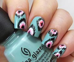 Aztec nails! Love!!