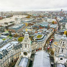 View from the top of St. Paul's Cathedral | 8 Spots To Find The Best View Of London