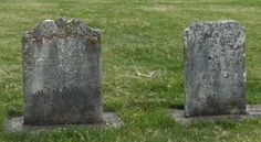 Old gravestones from St. Paul cemetery