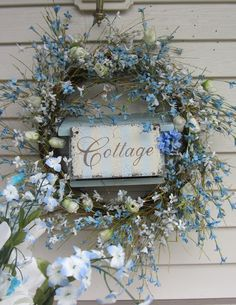 Blue country cottage .. welcome