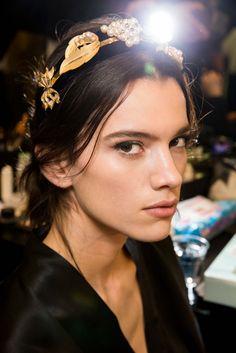 Dolce & Gabbana Fall 2015 Ready-to-Wear Beauty Photos - Vogue Dolce & Gabbana, Bohemia Wedding, Domenico Dolce & Stefano Gabbana, Show Beauty, Beauty Style, Beauty Photos, Beauty Trends, Beauty Tips, Fall 2015