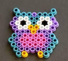 Best Perler beads ideas on Easy Perler Bead Patterns, Melty Bead Patterns, Perler Bead Templates, Diy Perler Beads, Perler Bead Art, Beading Patterns, Owl Perler, Knitting Patterns, Art Patterns