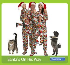 91eb5f371eea 18 Best Christmas Footed Pajamas for Adults images