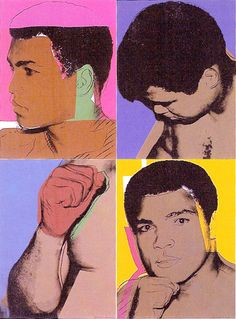 ...Ali by Andy Warhol