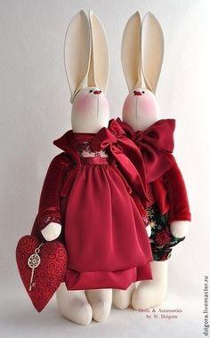 Купить В ожидании Волшебства... - кролики, зайцы, новогодние зайцы, новогодние кролики, рождественский подарок