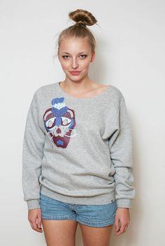 bluza damska surowo wykończona/ women's sweatshirt #3