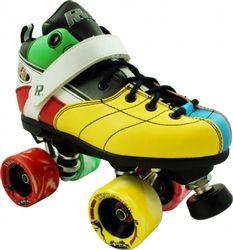 Rock Explosion Roller Skate With Twister Wheels  www.skateoutloud.com