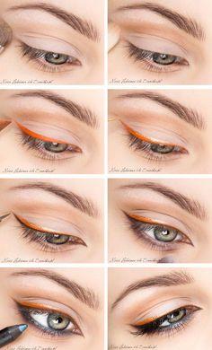 Orange & Gold Liner