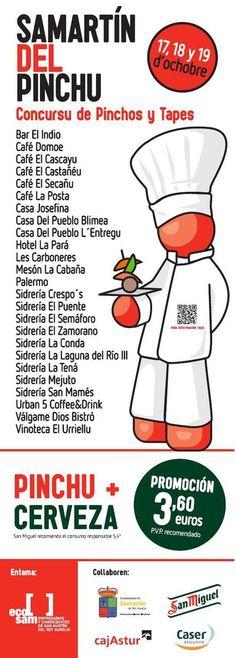 Del 17 al 19 de octubre San Martín del Pinchu en San Martín del Rey Aurelio #Asturias