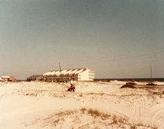 Riding ATVs near June's Dunes, Destin, in 1982. This photo was shared with us by Molly Tietgen.