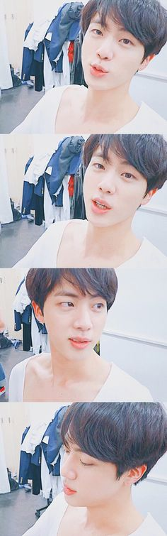Bighit censored Jin's chest because they knew that armies would have died...