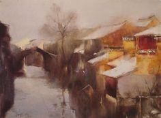 Federico Lombardo,Savina Lombardo,Arianna Piazza,Zhao Haoyi Acquerelli Water color Piziarte Arte Contemporanea Sweet Home 25