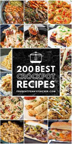 200 Best Crock Pot Recipes Make weeknight dinners a breeze with these delicious and comforting crockpot recipes. From tender meats to hearty soups, there are plenty of dinner recipes to choose from. Best Crockpot Recipes, Slow Cooker Recipes, Cooking Recipes, Crockpot Meals, Steak Recipes, Crock Pot Slow Cooker, Crock Pot Cooking, Quick Easy Meals, Easy Dinner Recipes