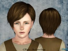 Cazy's Relentless - Hairstyle - Child