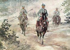 Jäger zu Pferde patrol.