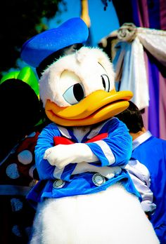 Donald Duck, and that's why I love him!