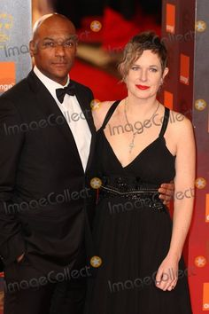 Photos and Pictures - Colin Salmon and Fiona Hawthorne pose for photographers on the red carpet at the 2011 Orange British Academy Film Awards held at The Royal Opera House in Covent Garden. London, UK. 02/13/11.