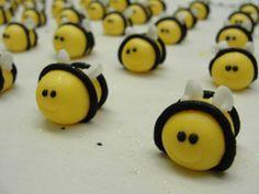 Bees Cheesecakes, Yummy Treats, Bees, Cupcakes, Homemade, Baking, Food, Cupcake Cakes, Home Made