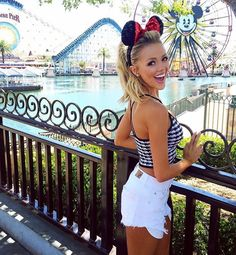 Cute summer Disney Land outfit