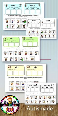 """These cards were made in the same format as my best seller """"Visual Support cards for Behaviour Manangement"""" but iv updated it and added cute visuals to make them more fun!."""