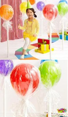 Top 10 DIY Balloon Decorations Super cute idea for a birthday:)