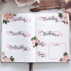 Looking for Bullet Journal Header ideas and Inspiration? Whether you use banners in your BuJo or not Bullet Journal Lettering, Bullet Journal Doodles, Bullet Journal Planner, February Bullet Journal, Bullet Journal 2020, Bullet Journal Writing, Bullet Journal Inspo, Bullet Journal Spread, Bullet Journal Layout
