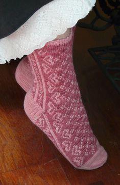 Ravelry: Lovely Socks pattern by Ann Kingstone