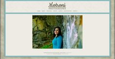 Motroni Photography website design by New Skin Media. SmugMug Customization