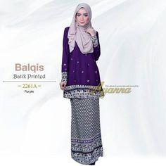 Balqis Batik Printed 2261A  Material :   Plain > Pearl Crepe (Crepe Kualiti Bagus Tebal Tak Panas Senang Iron Tak Licin)      Corak >  Cotton Printed Lembut      (Cotton Kualiti Bagus Tak Panas Lembut Senang Iron)       Kain :   Duyung (Pinggang Kiri & Kanan > Getah)  Zip :   Belakang & Tangan (Zip Sorok)  Manik :   Exclusive Beads    for more info http://ift.tt/2lgP8fS