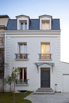 maison - ca 1900 - extension + renovation - vincennes - zündel cristea - 2010 - photo sergio grazia