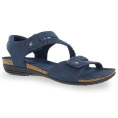 Easy Street Zone Women's Sandals, Blue (Navy) #WomensSandals