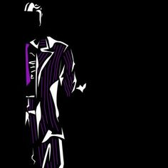 Negative Space DC Characters Two-face