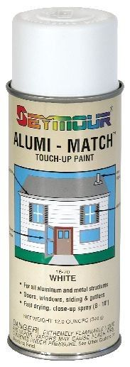 alumi match bronze a professional grade touch up paint for aluminum window frames doors and gutters this bronze spray paint matches the color of