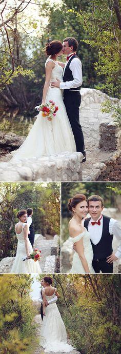 Sweet countryside wedding in Kotor, Montenegro - Photos by Sonya Khegay