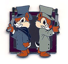 The Haunted Mansion - Mystery Pin Collection Chip and Dale Duellers Pin Pics: View Pin 65944