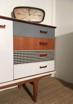 mid century modern with new attention to detail and patterning