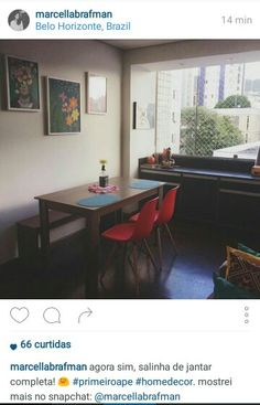 Sala de jantar/apto
