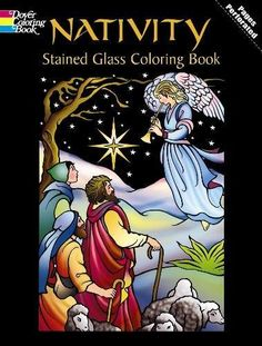 From 3.23 Nativity Stained Glass Colouring Book: Vol 1