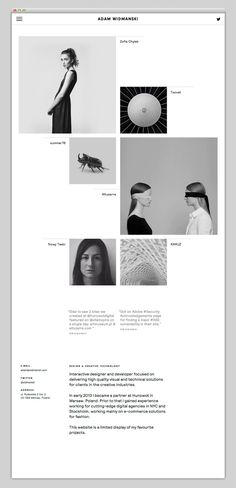 Websites We Love — Showcasing The Best in Web Design — Designspiration