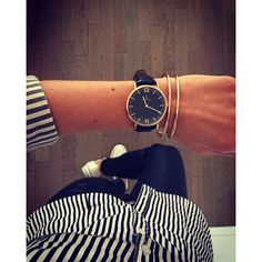 casual style with our Campus all Black in Rosegold of cours | kapten-son.com