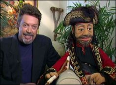 Tim Curry was given a Muppet caricature of himself for working in Muppet Treasure Island