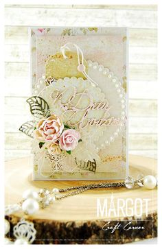 From our Design Team! Card by Małgorzata Dudzińska featuring these Dies - Love Owl Tag Die, Pierced Scalloped Circles Die, Two Leaves Die, Open Leaf Flourish Die :-)  Shop for our products here - shop.lalalandcrafts.com More Design Team inspiration here - http://lalalandcrafts.blogspot.ie/2016/01/inspiration-wednesday-anything-goes.html