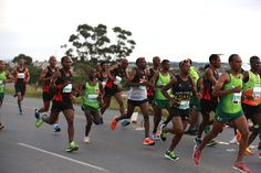 OCTOBER 5, 2015 Front runners pass Zwelitsha during the early stages of the 68km leg of the Legends Marathon between Bhisoh and East London PICTURE ALAN EASON ©DAILY DISPATCH PHOTO GALLERY: Early push in Legends Marathon brings gold for Makaza | DispatchLIVE